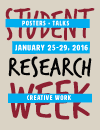 Student Research Week 2016 cover