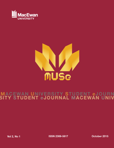 MUSe 2015, Issue Number 1